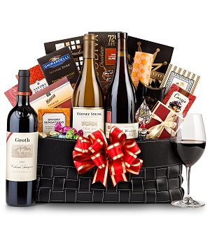 The Paramount Luxury Wine Basket