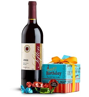 Happy Birthday Wine and Chocolate