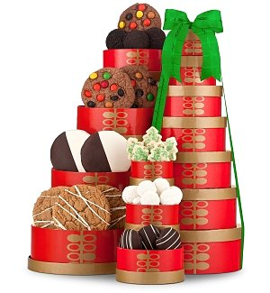 Festive Cookie Tower