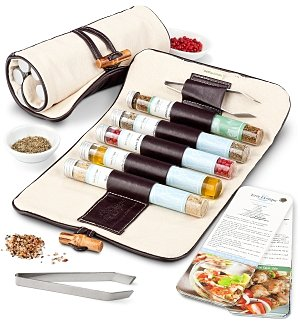 Terre Exotique Oils and Salts Travel Satchel
