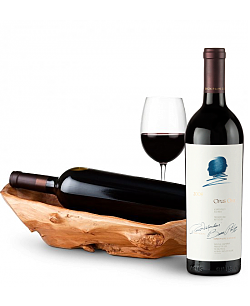 Root Presentation Bowl with Opus One 2009