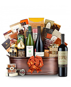 The Hamptons Luxury Wine Basket-Caymus Special Selection 2009