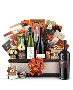The Hamptons Luxury Wine Basket-Joseph Phelps Napa Valley Insignia Red 2006