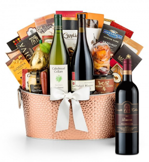 The Hamptons Luxury Wine Basket-Leonetti Reserve Red 2009