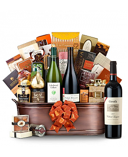 The Hamptons Luxury Wine Basket-Groth Cabernet Sauvignon 2008