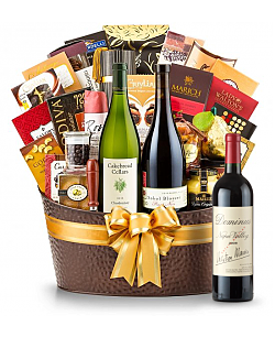The Hamptons Luxury Wine Basket-Dominus Estate 2008