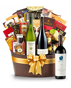 The Hamptons Luxury Wine Basket-Opus One 2009
