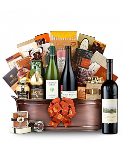 The Hamptons Luxury Wine Basket-Quintessa Meritage Red 2009