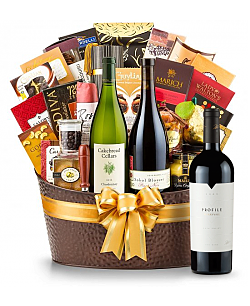 The Hamptons Luxury Wine Basket-Merryvale Profile 2009