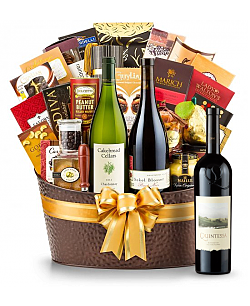The Hamptons Luxury Wine Basket-Quintessa Meritage Red 2010