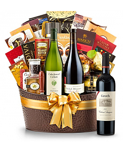The Hamptons Luxury Wine Basket-Groth Cabernet Sauvignon 2010