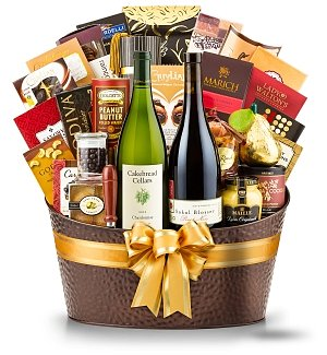 The Hamptons Luxury Wine Basket