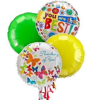Balloon Bouquet-4 Mylar