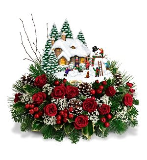 Thomas Kinkade's Winter Wonderland Bouquet