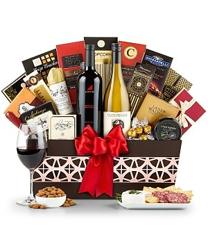 The Ambassador Wine Gift Basket