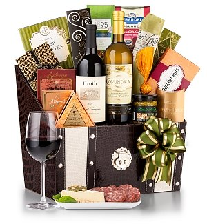 The Madison Avenue Wine Gift Basket