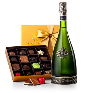 New Year's Champagne & Chocolates