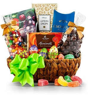 Classic Easter Sweets Basket