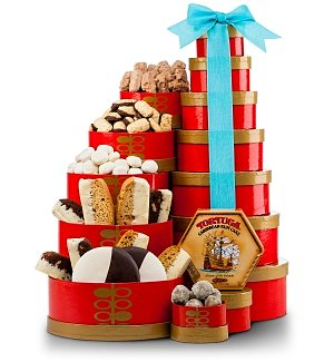 Cookies & Sweets Gift Tower