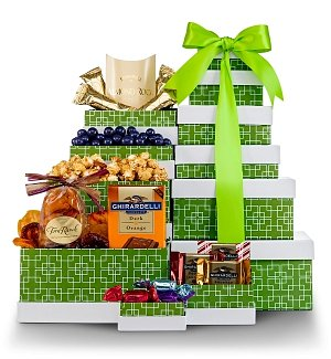 Gourmet Selections Gift Tower