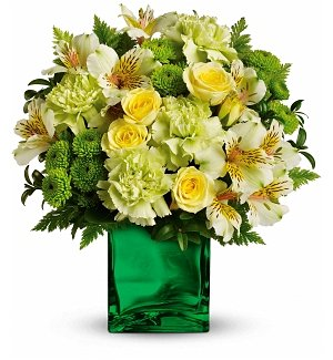 Emerald Elegance St. Patrick's Day Bouquet