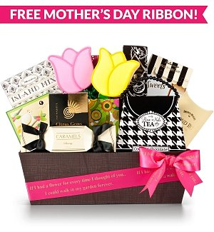 Mom's Sweet Retreat Gourmet Gift Basket