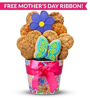 Mother's Day Blossoming Cookie Bouquet