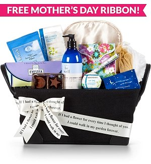 Mom's Sweet Tranquility Spa Basket