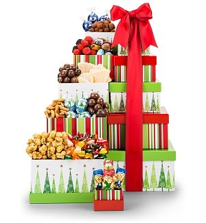 Tower of Treats Gift Tower