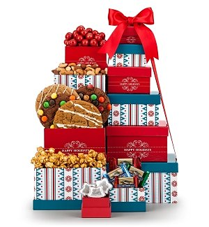 Peppermint Parade Gift Tower