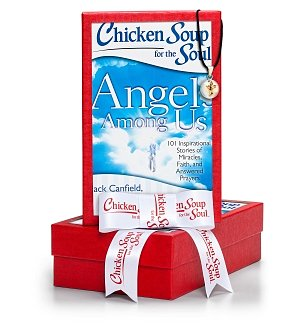Chiming Angel Charm with Chicken Soup for the Soul® Angels Among Us