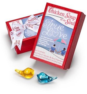 Handmade Love Birds Gift Set with Chicken Soup for the Soul®