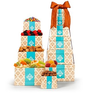 Sophisticated Flavors Gift Tower