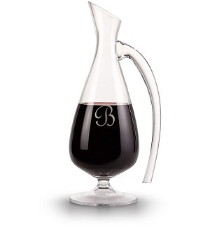 Personalized Amphora Wine Decanter