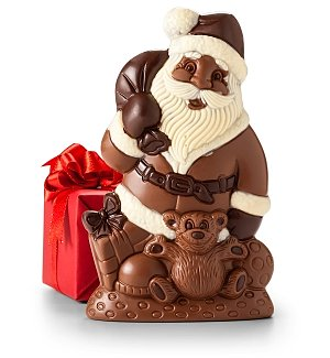 Bissinger's Gourmet Chocolate Santa