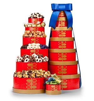 Holiday Symphony Gift Tower