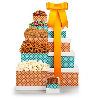Sweetest Delight Snack Tower