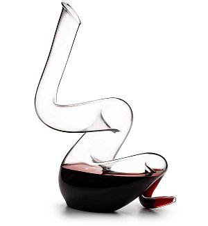 Wine Accessories & Decanters: Riedel Crystal Boa Decanter