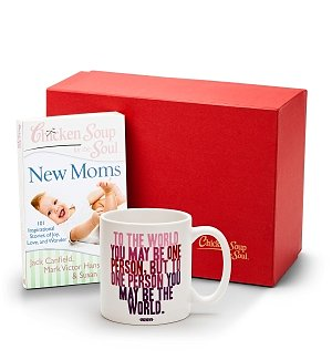 Inspirational Mug with Chicken Soup for the Soul® New Moms
