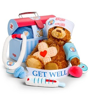 Get Well Plush Doctor's Play Set