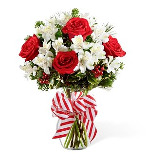 Holiday Peppermint Bouquet