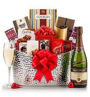Champagne Romance Gourmet Gift Set