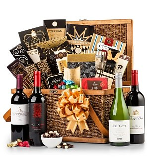 Executive Gourmet & Wine Gift