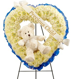 Precious Child Floral Tribute