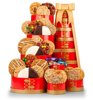 Gourmet Cookie Extravaganza Gift Tower