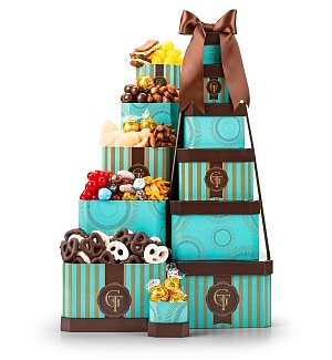 Sweet Gourmet Confections Tower