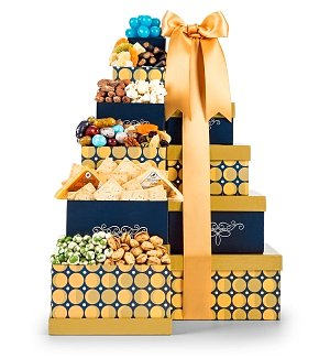Select Cheese & Nuts Gift Tower