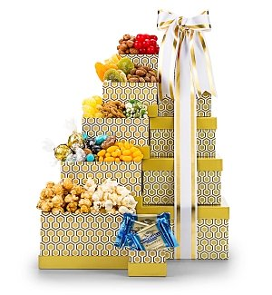 Classic Confections Gourmet Gift Tower