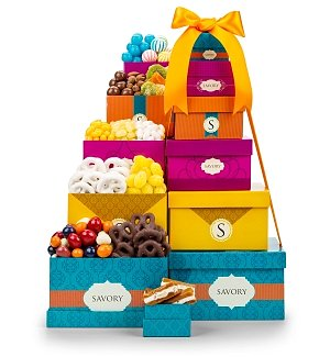 Premium Chocolate & Sweets Tower