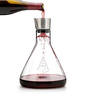 Wine Accessories & Decanters: Monogrammed Decanter with Aerator